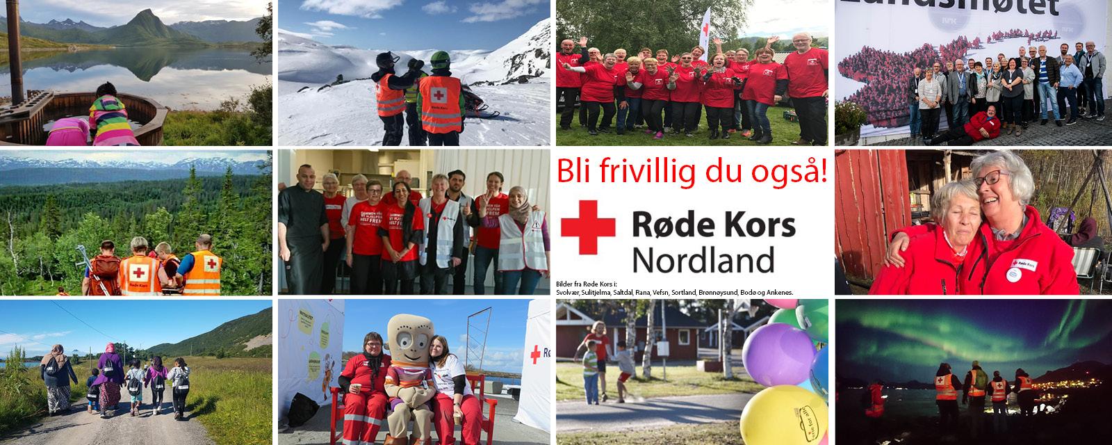 frivillig arbeid røde kors